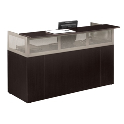 At Work Reception Desk with Pedestal, 13519