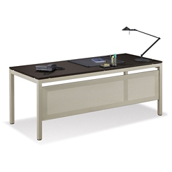 "At Work 72""W x 30""D Table Desk with Modesty Panel, 46289"