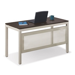 "Table Desk with Modesty Panel 48""Wx24""D, 46373"