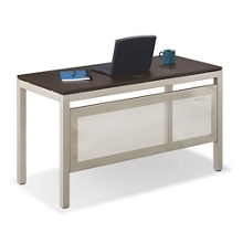 Table Desks with Modesty Panels