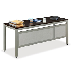 "At Work 72""W x 24""D Table Desk with Modesty Panel, 46290"