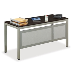"At Work 60""W x 24""D Table Desk with Modesty Panel, 46372"