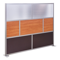 At Work 96 W X 78 H Room Divider
