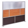 "At Work 96"" W x 78"" H Room Divider, 21238"