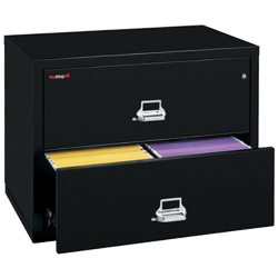 "Two Drawer Fireproof Lateral File - 44""W, 30165"