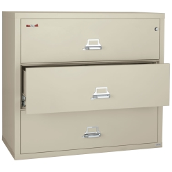"Three Drawer Fireproof Lateral File - 38""W, 30159"