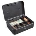 Lockable Six Compartment Cash Box, 36380