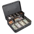 Lockable Nine Compartment Cash Box, 36381