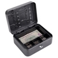 Lockable Four Compartment Cash and Key Box, 36386