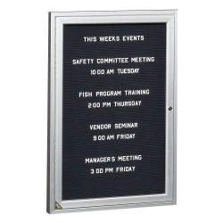 "Indoor Directory Board 24""W x 36""H, 80227"