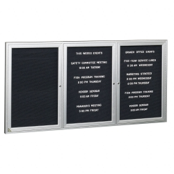 "Indoor Directory Board 72""x48"", 80231"
