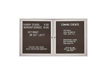 "Outdoor Directory Board 48""wx36""h, 80817"