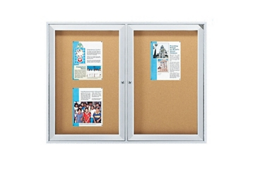 "Outdoor Bulletin Board 96""W x 48""H, 220032"