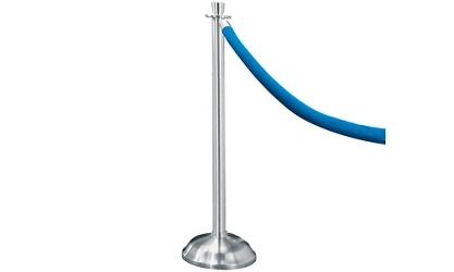 Crowd Control Post In Satin Aluminum, 85029