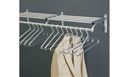 "Wall Mounted Coat Rack - 72""W, 92118"