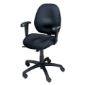 Malaga Fabric Low Back Ergonomic Chair, 56526