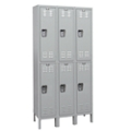 "36""W x 18""D x 78""H Antimicrobial 6 Person Locker, 31001"