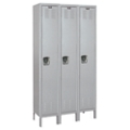 "45""W x 18""D x 78""H Antimicrobial 3 Person Locker, 31007"