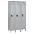 "Assembled 54""W x 18""D x 78""H Antimicrobial 3 Person Locker, 31010"