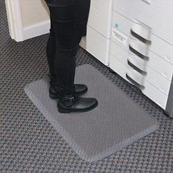 """Anti-Fatigue Floor Mat with Beveled Edges - 22"""" x 32"""", 54030"""