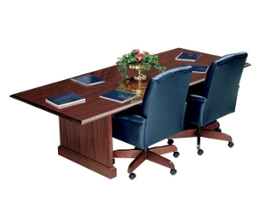 "Traditional Rectangular Conference Table - 96"" x 42"", 40374"