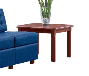 End Table with Wood Veneer Top, 53751