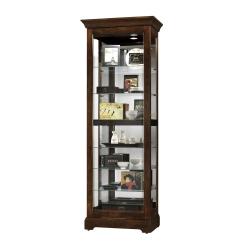 Display Cabinet With Mirrored Back 31677