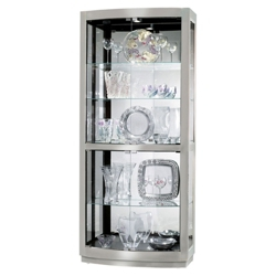 "Five Shelf Lighted Display Cabinet - 78.5"" H, 36350"
