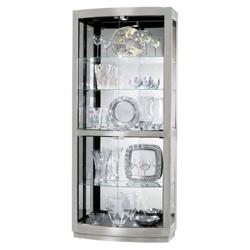 "Five Shelf Lighted Display Cabinet - 78.5"" H, 36350"