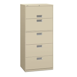 "600 Series 30""W Heavy-Duty Five Drawer Lateral File, 30713"