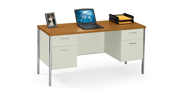 hon systems furniture old s jg pedestals hanging desk w img