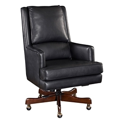 Executive Arm Chair in Leather, 55090