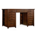 "Double Pedestal Partner Desk - 62""W x 36""D x 37""H, 13544"