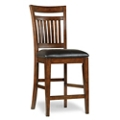 Wood Veneer Counter Height Stool, 50990