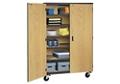 """Teacher Storage Cabinet on Wheels - 48""""W, 220056"""