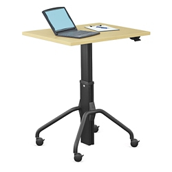 "Adjustable Height Gas Lift Table - 36""W, 41419"