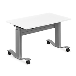 "Adjustable Height Flip Top Whiteboard Table - 36""W, 41420"
