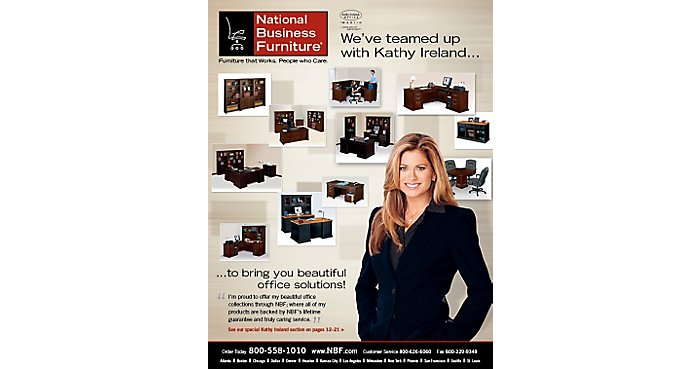 Model Furniture: NBF teams up with Kathy Ireland