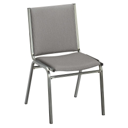 "Armless Stack Chair 1"" Fabric Seat, 51227"