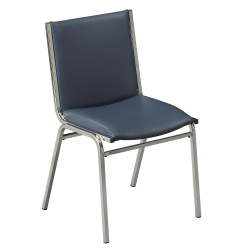 "Armless Stack Chair 2"" Vinyl Seat, 51228"