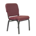 Armless Fabric Ganging Stack Chair, 51302
