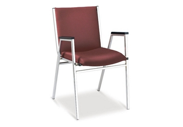Vinyl Stack Chair, 51672