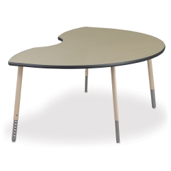 Kidney Shaped Meeting Table, 41303