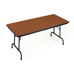 "Adjustable Height Folding Table 30"" x 72"", 41329"