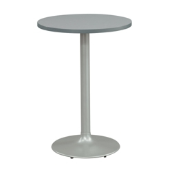 "30"" Square Cafe Height Table with Pedestal Base, 44594"