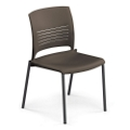 Armless Polypropylene Stack Chair, 51289
