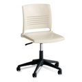 Armless Plastic Task Chair, 57141