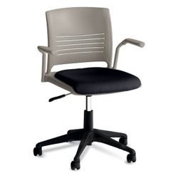 Task Chair with Arms and Fabric Seat, 57144