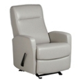 Glider Vinyl Recliner with Built-in Headrest, 25789