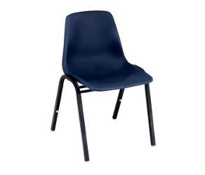 Armless Plastic Stack Chair, 51218